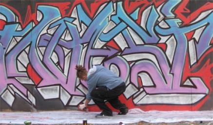 Non solo multe per i graffitari