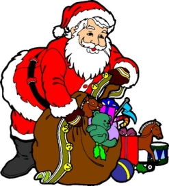 Multa alla carrozza di Babbo Natale