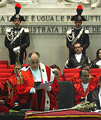 Inaugurato l'Anno Giudiziario