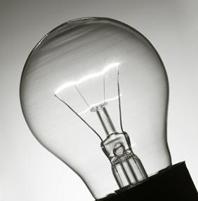 In pensione lampadine da 75 Watt