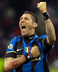 L'addio di Materazzi all'Inter