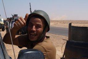 Il figlio di Gheddafi é ancora libero