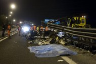 5 morti e 4 feriti in un incidente stradale nel Cosentino