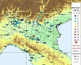 Il terremoto ha scosso l'Italia