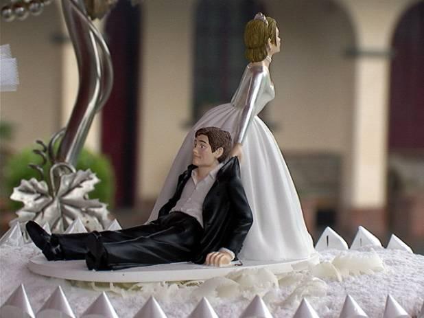 Un matrimonio finito in rissa
