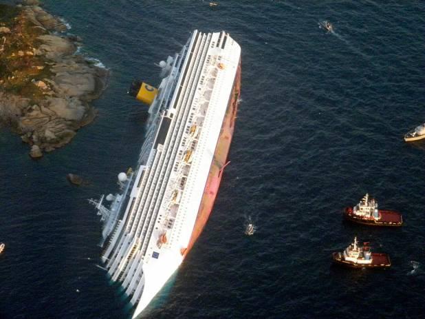 La Concordia sta per essere rimossa