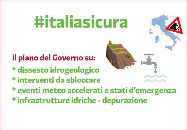 Arriva #italiasicura: iniziativa del governo per dare una mano alle scuole