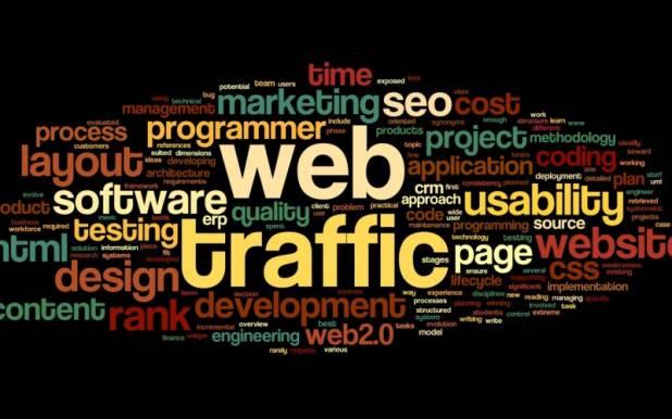 Traffico web mondiale generato dai software