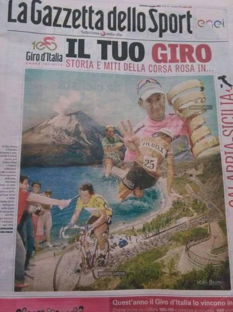 Giro d'Italia n.100, omaggiata la Calabria