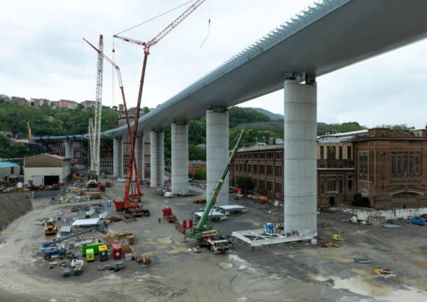 Completato il Ponte di Genova, il varo