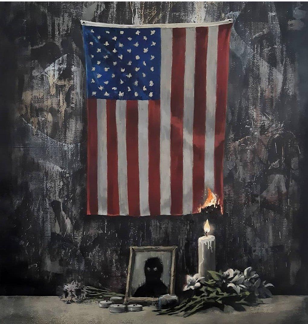 Banksy ricorda George Floyd